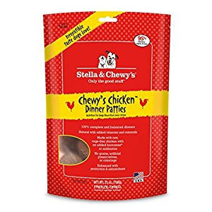 Holistic Dog Stella and Chewy's Freeze Dried Chicken Patties 25 oz
