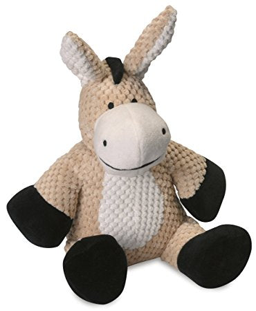 Go Dog Checkers Chew Guard Donkey Dog Toy