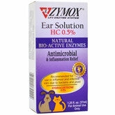 Holistic Pet Zymox Ear Solution HC 0.5% 1.25 fl oz