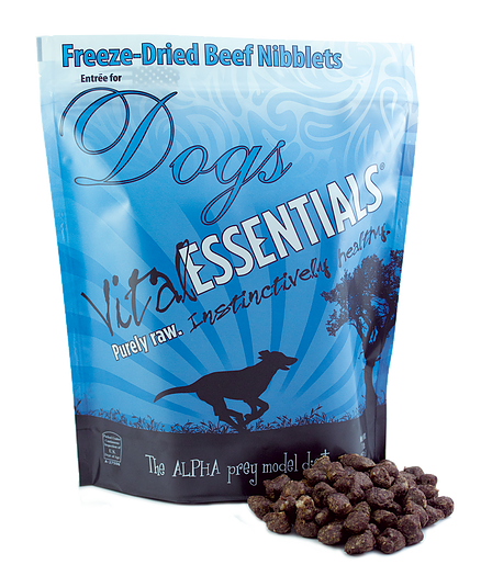 Vital Essentials Freeze-Dried Nibblets Beef 1lb Canine