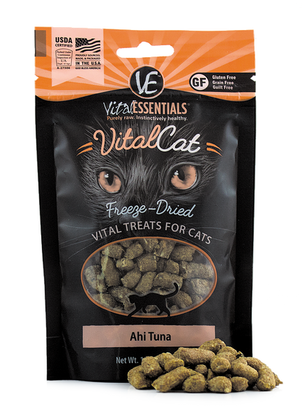 Holistic Cat Treats Freeze-Dried Vital Ahi Tuna