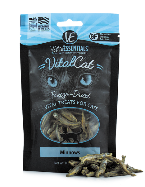 Holistic Cat Treats Freeze-Dried Vital Minnows Treats