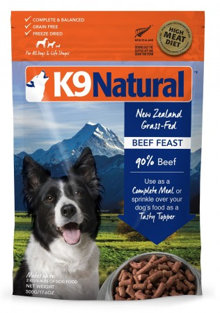K9Natural Freeze Dried Beef Feast 1.1lb