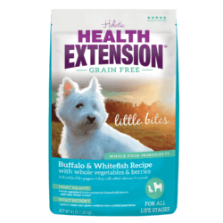 HEALTH EXTENSION GRAIN FREE BUFFALO WHITEFISH LITTLE BITES 4LB