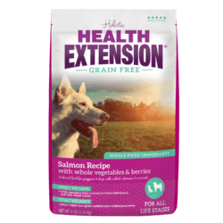 HEALTH EXTENSION GRAIN FREE SALMON, HERRING AND CHICKEN PEA 4LBS
