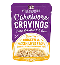 Stella and Chewy's Carnivore Cravings Chicken & Chicken Liver Recipe 2.8oz