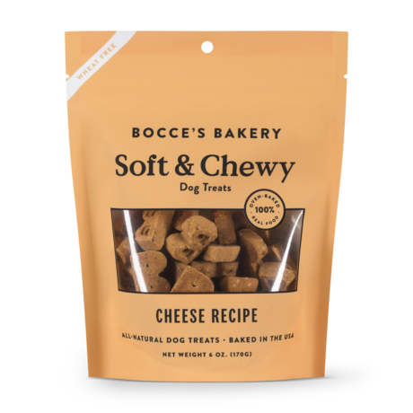 Bocce's Bakery Soft & Chewy Cheese Treat 6oz