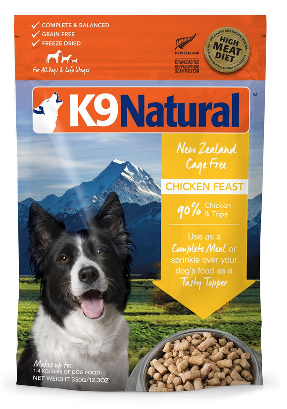 K9Natural Freeze Dried Chicken Feast 7.7oz