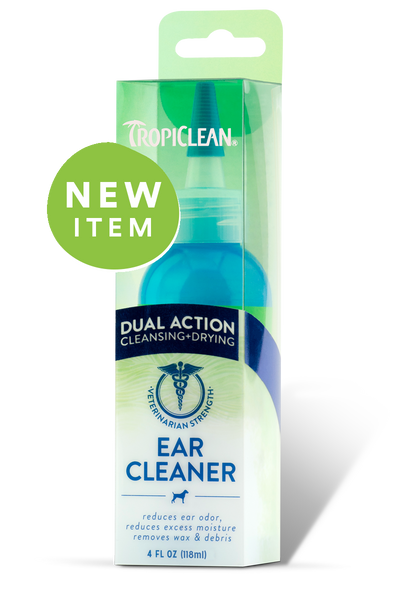 Holistic Pet Tropiclean Dual Action Ear Cleaner 4 oz