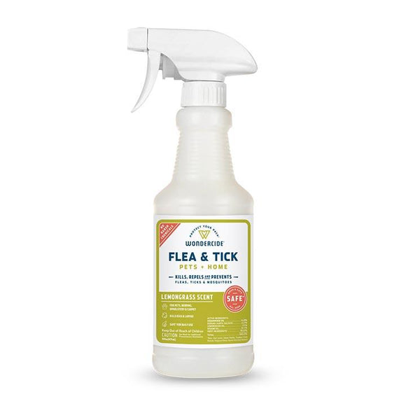 Wondercide Lemongrass Flea and Tick Spray for Pets 16oz