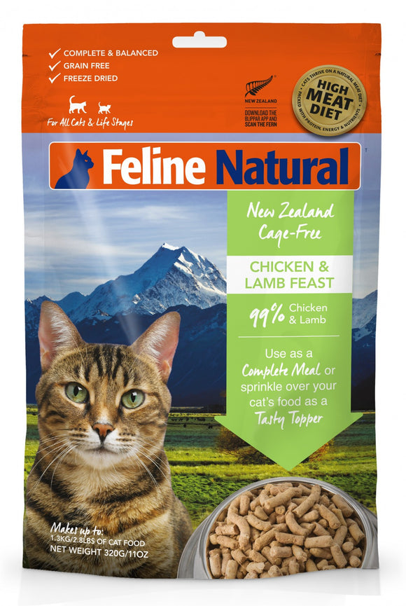 Feline Naturals Chicken And Lamb Feast 11 OZ