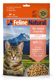 FELINE NATURALS Freeze Dried Lamb and Salmon Feast 11oz