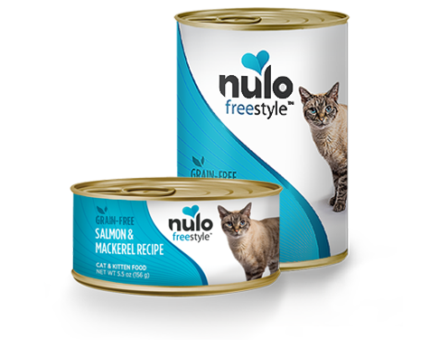 Holistic Cat Nulo Freestyle Grain Free Salmon & Mackerel Recipe 5.5 oz