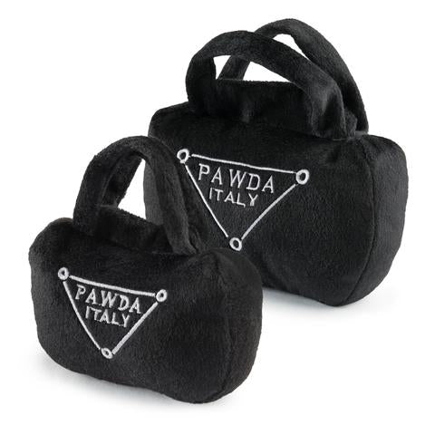 Haute Diggity Dog Pawda Bag Dog Toy