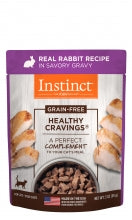 Holistic Cat Instinct Healthy Cravings Real Rabbit Recipe 3 oz