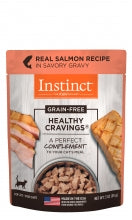 Instinct® Healthy Cravings® Real Salmon Recipe Cat Pouches 3oz NEW!