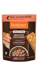 Instinct® Healthy Cravings® Real Salmon Recipe 3oz Pouches NEW!