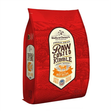 Holistic Dog Stella and Chewy's Raw Coated Kibble Beef 3.5 lb