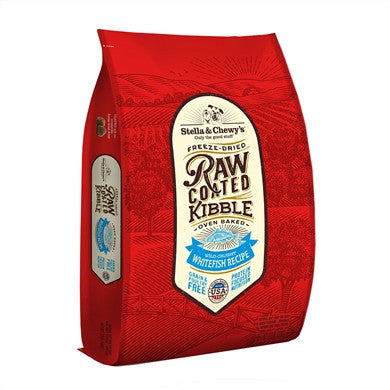 Holistic Dog Stella and Chewy's Raw Coated Kibble Whitefish 3.5 lb