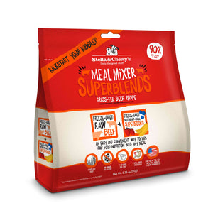 Stella and Chewy's Grass-Fed Beef Superblends Meal Mixers 3.25 oz Canine