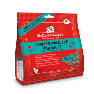 Stella and Chewy's Savory Salmon and Cod Meal Mixers 3.5 oz
