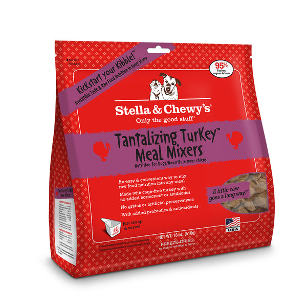 Stella and Chewy's Tantalizing Turkey Mixers 18oz