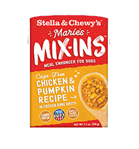 Stella and Chewy'a Mix Ins Chicken and Pumpkin Wet Dog Food 5.5 oz