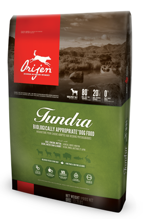 Holistic Dog Food Orijen Tundra 25lb