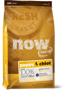 Holistic Dog Food NOW FRESH™ Puppy dog food 25lb