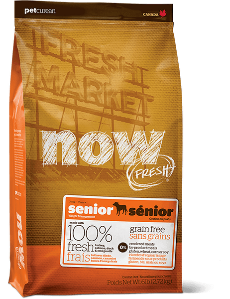 Holistic Dog Food NOW FRESH™ Senior dog food 25lb