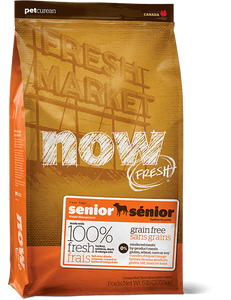 Holistic Dog Food NOW FRESH™ Senior dog food 12lb
