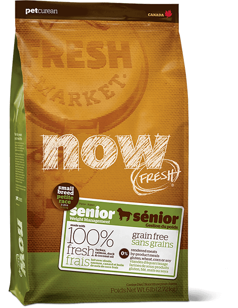 Holistic Dog Food NOW FRESH™ Small Breed Senior 12lb