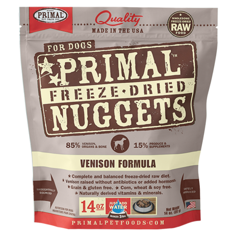 Holistic Freeze Dried Dog Primal Venison 14oz