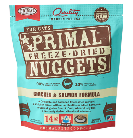 Holistic Freeze Dried Cat Primal Chicken/Salmon 14oz