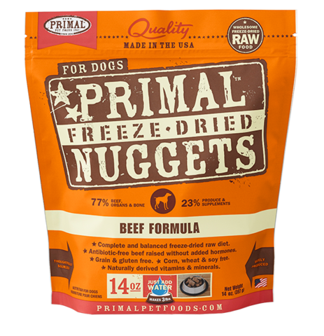 Holistic Freeze Dried Cat and Dog Primal Freeze Dried Beef 5.5oz