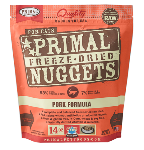 Holistic Freeze Dried Cat Primal Pork 5.5