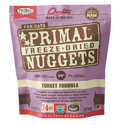 Holistic Freeze Dried Cat Primal Turkey 14oz