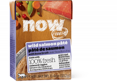 NOW FRESH  Grain Free Wild Salmon Pâté with Bone Broth 6.4oz