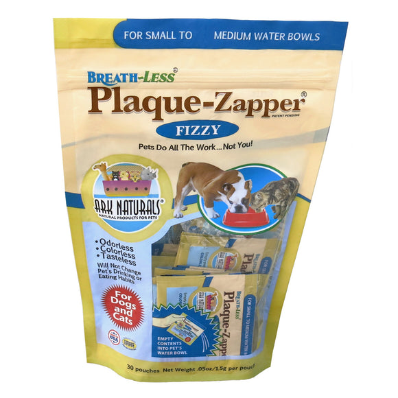 Holistic Pet Ark Natural Breath-Less Plaque Zapper Fizzy Small/Medium 30 Packets
