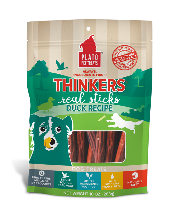 Holistic Pet Treats Plato Pet Treats Duck Thinkers