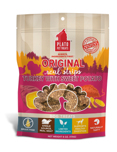 Holistic Pet Treats Plato EOS Turkey With Cranberry Real Strips