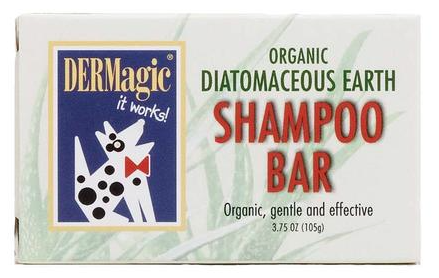 Holistic Dog DERMagic Organic Diatomaceous Earth Shampoo Bar 3.75 oz