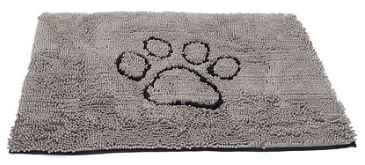 Dog Gone Smart Dirty Dog Doormat Grey