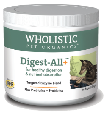 Wholistic Pet Organics Digest-All 8 oz