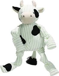 Hugglehound Cow Large Dog Toy