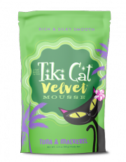Tiki Cat® Velvet Mousse™ Tuna & Mackerel 2.8oz