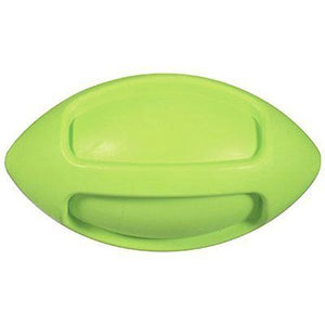 JW Pet iSqueak Funble Football Dog Toy Large Green