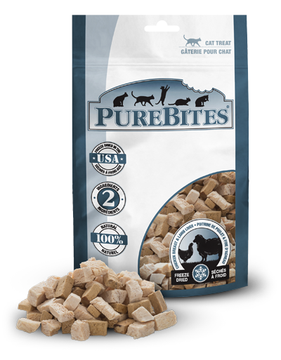 Holistic Cat Treats PureBites® Freeze Dried Chicken Breast & Lamb Liver