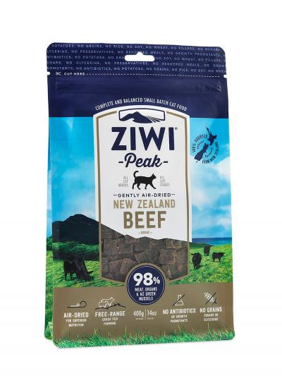 Ziwi Peak Air-Dried Beef Cat Cuisine 14 oz