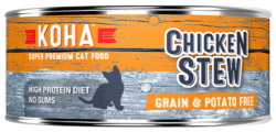 Holistic Cat Koha Grain Free Chicken Stew Wet Cat Food 5.5 oz can